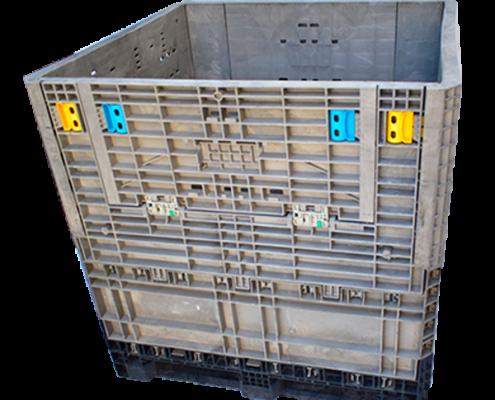 Contenedores de plástico 45x48x48